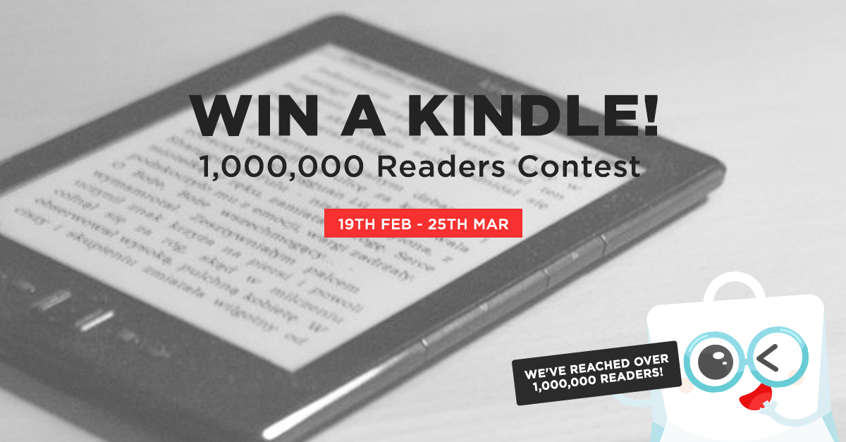 1,000,000 Readers Contest