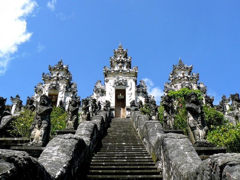 Pura Lempuyang Luhur, Gunung Lempuyang, Bali Indonesia