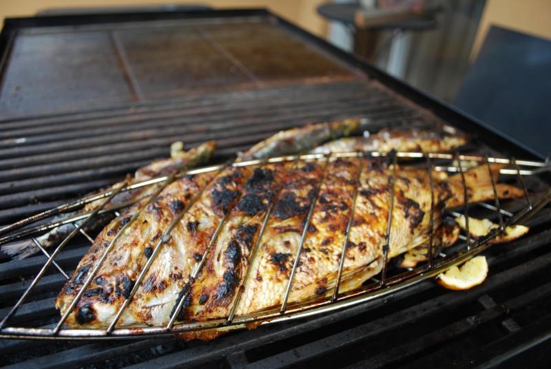 Jimbaran Bay Barbecue Fish Bali Indonesia
