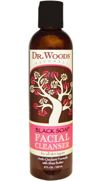 Dr. Woods, Facial Cleanser, Black Soap, iHerb