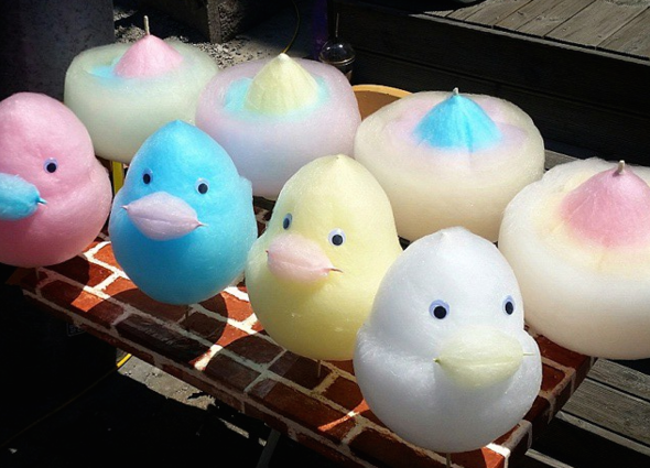 Colourful Cotton Candy Ducks Somsatang