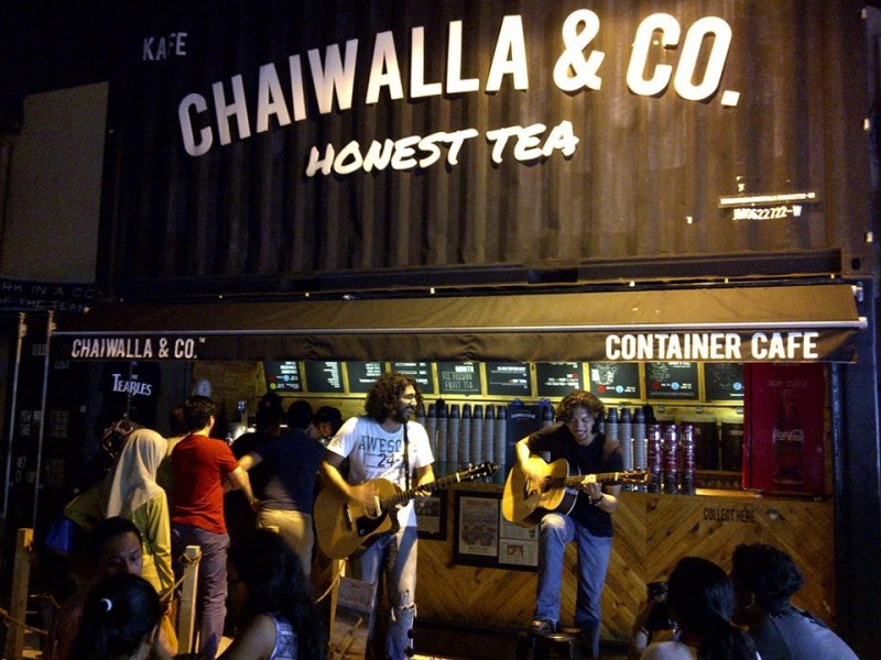 chaiwalla and co. container cafe Johor Bahru Malaysia