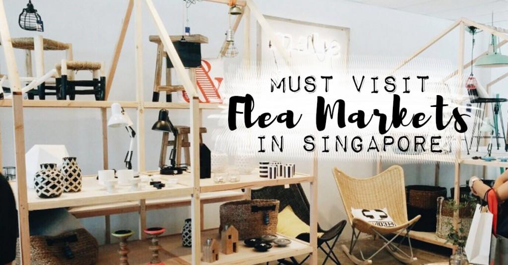 Best flea markets in Singapore