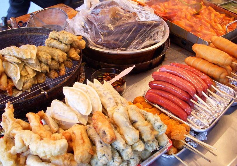 Korea Seoul Street Food