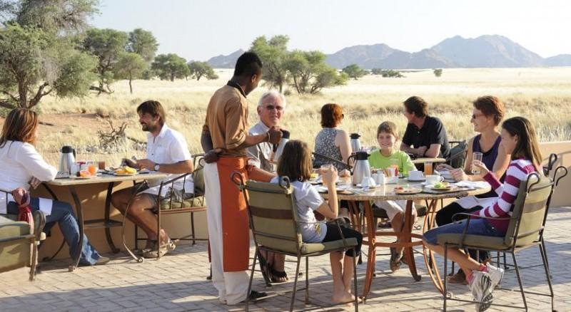 Sossusvlei Desert Lodge Outdoor Dining