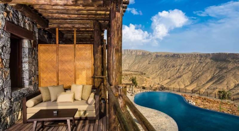 Alila Jabal Akhdar View From Balcony