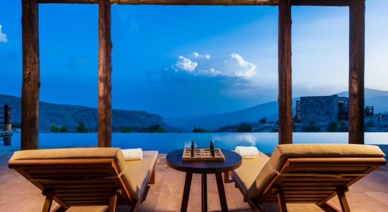 Alila Jabal Akhdar View From Outdoor Lounge