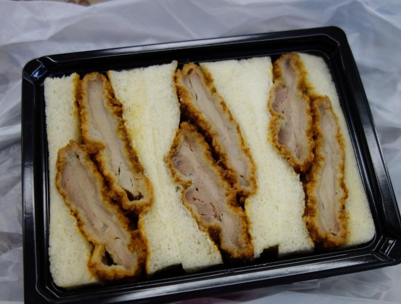 Double-filled Katsu Sandwich