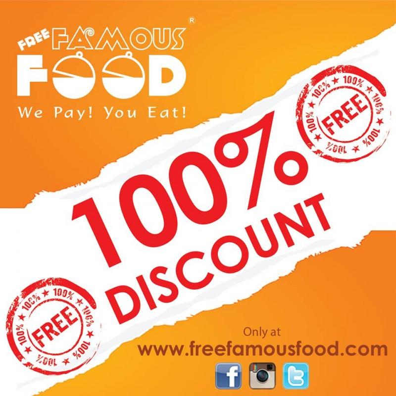 Free Famous Food promo
