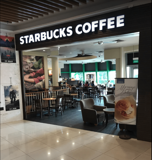 kallang wave mall starbucks