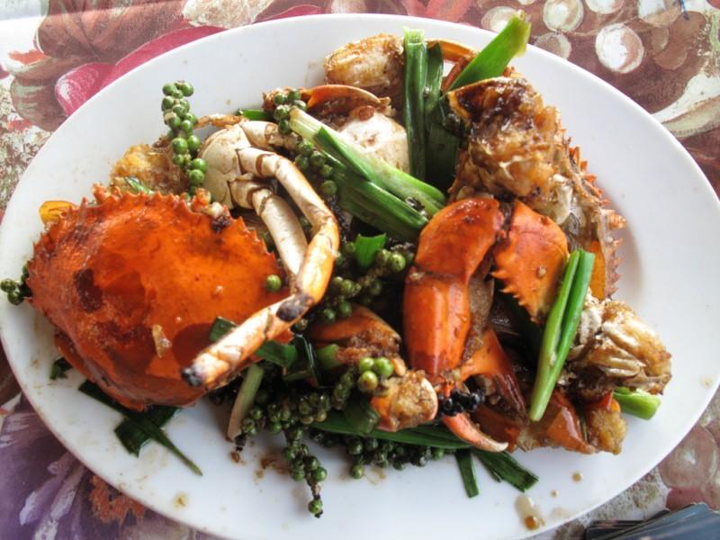 Kampot Pepper Crab