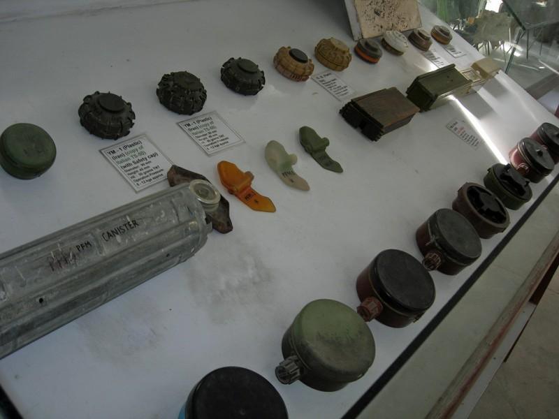 Land Mine Display