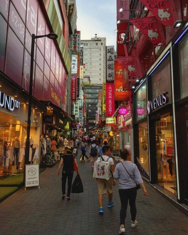 Myeongdong Streetview