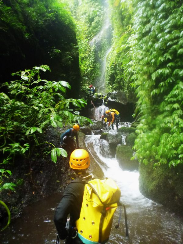Canyoning at Tamata, Bali Indonesia