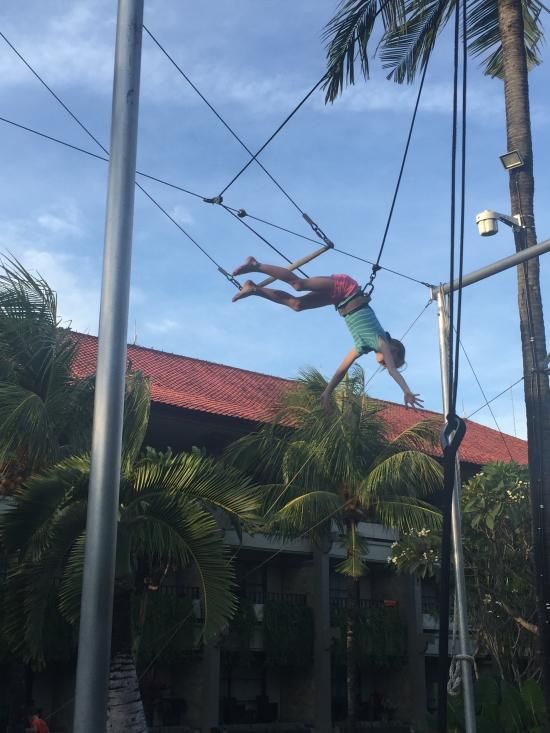 High Flyer Trapeze School Bali Indonesia