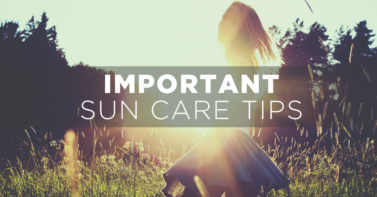 Important Sun Care Tips To Fight The Heat with Sephora
