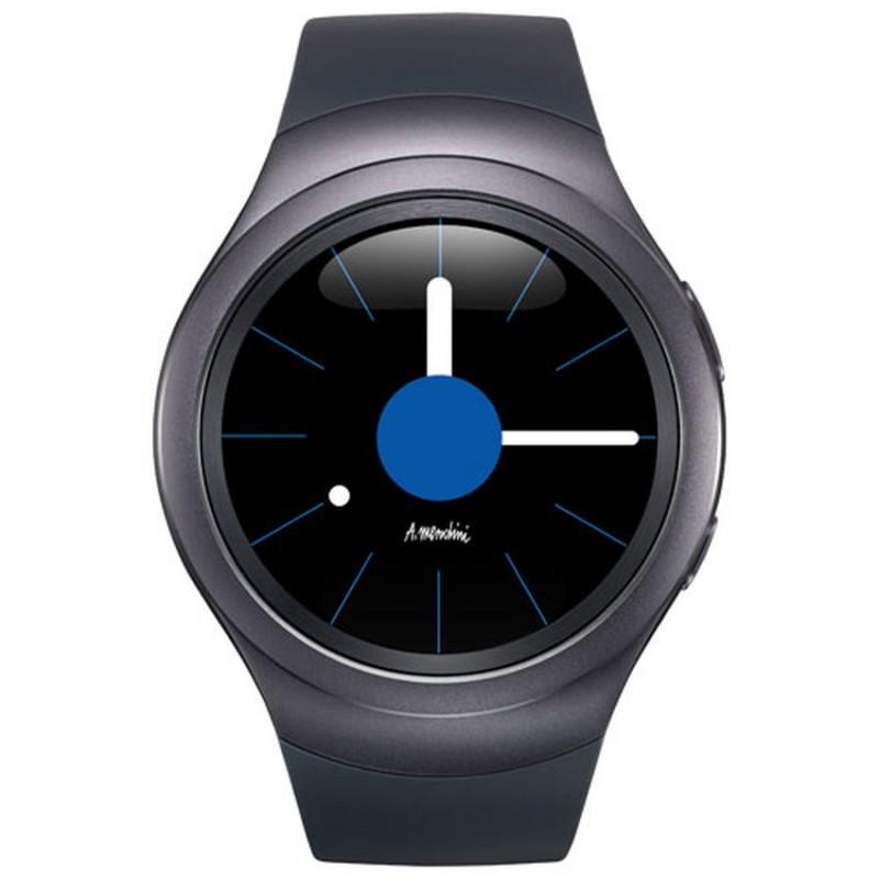 Samsung Gear S2 Black Strap Touchscreen Bezel