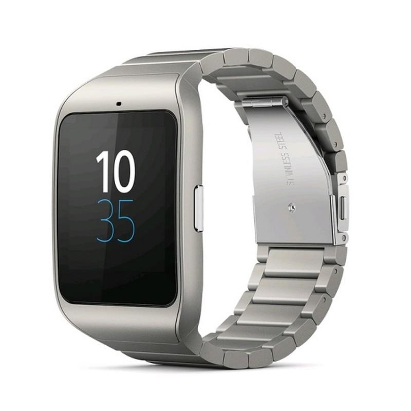 Sony Smartwatch 3 SWR50 Metal Strap Touchscreen Time