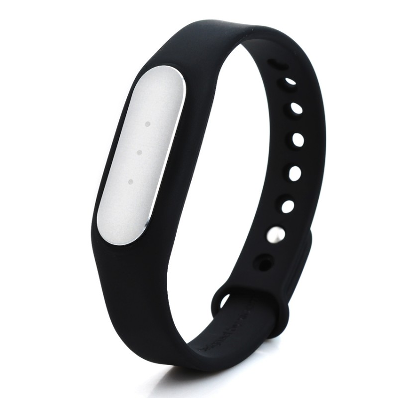 XiaoMi Intellignet Bluetooth v40 Sport mi band fitness bracelet black silver