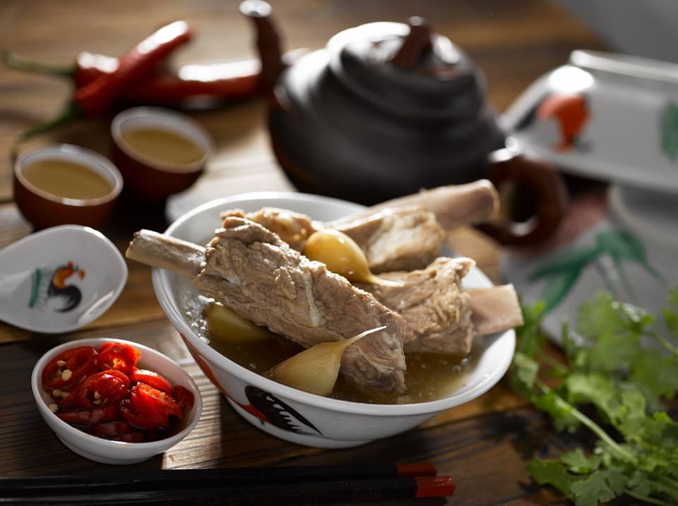 bak kut teh pork bones tender soup herbal peppery singapore