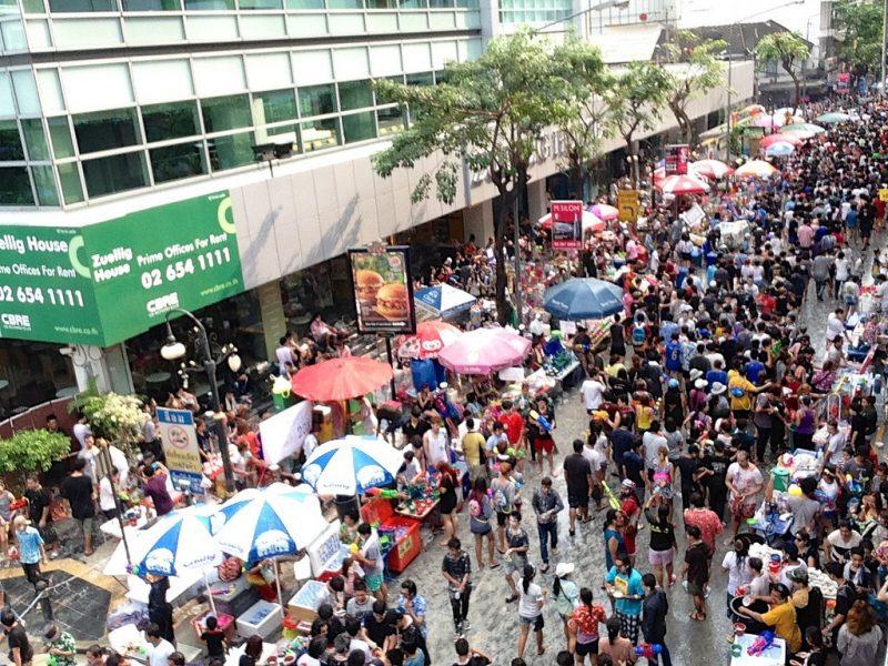Silom Walking Street Market
