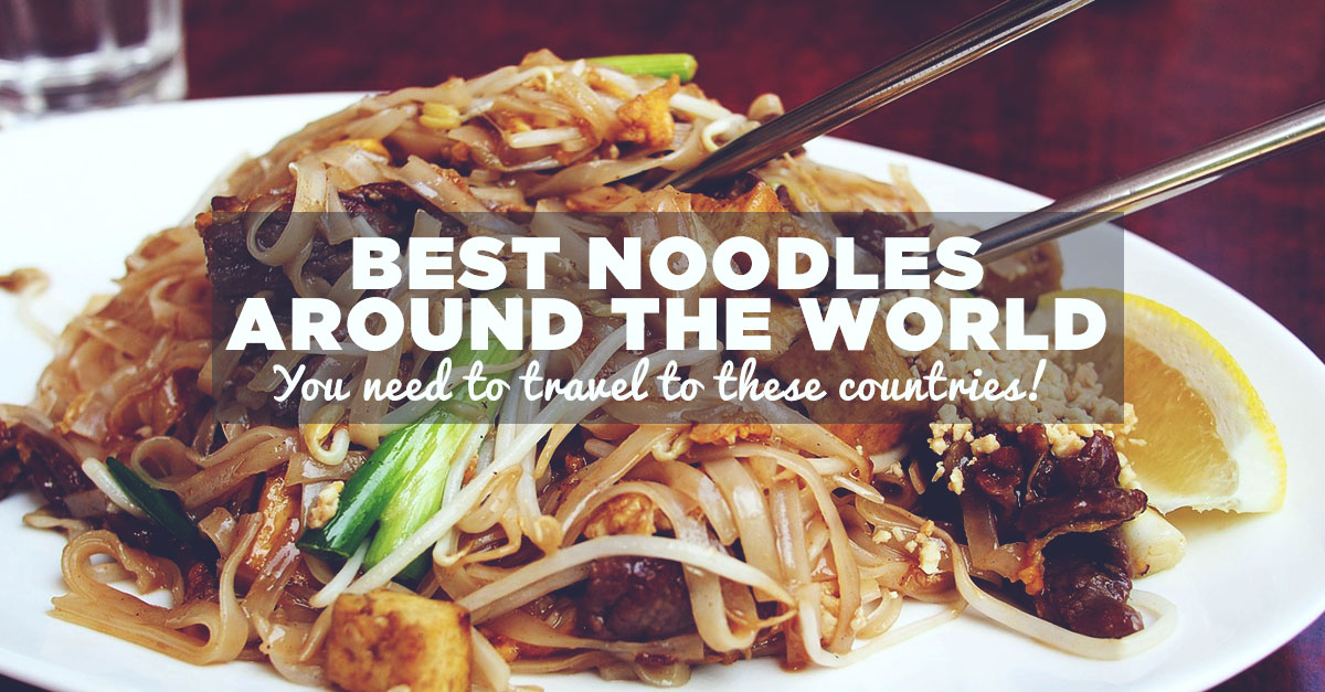 Noodles Around The World With Expedia