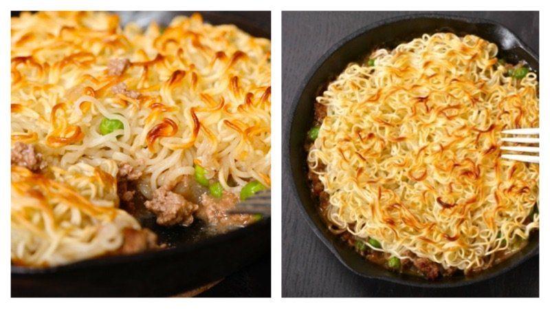 pie instant noodles