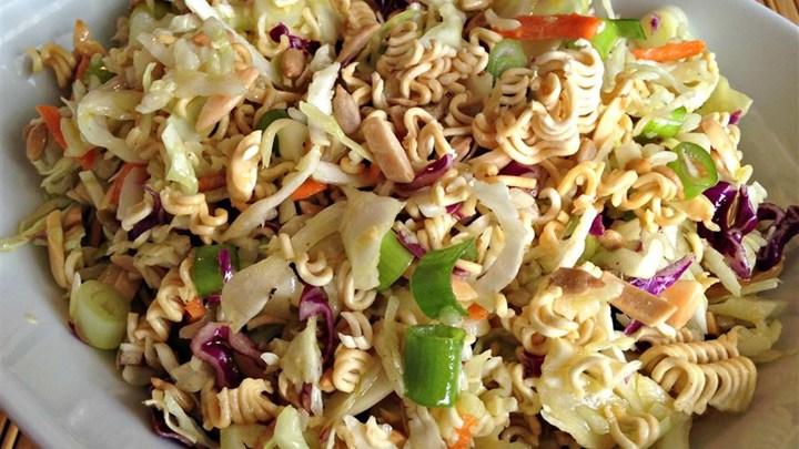 salad instant noodles