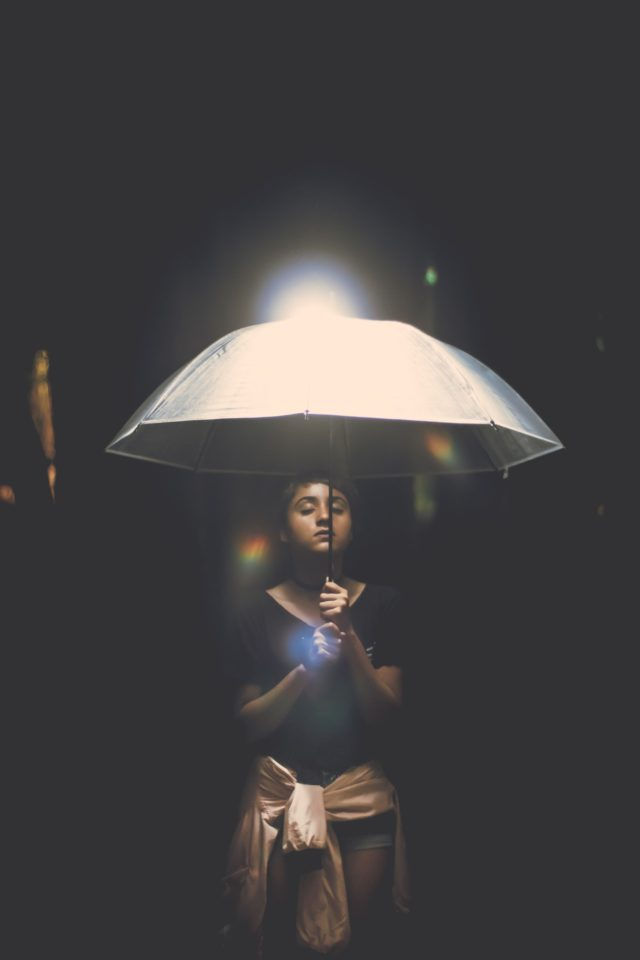 Opening umbrella indoors taboo