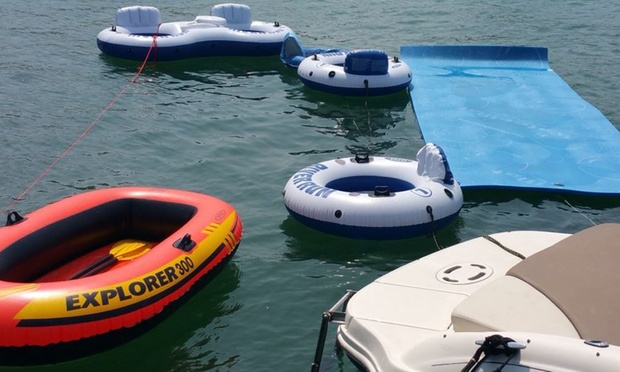 Floats and tubes