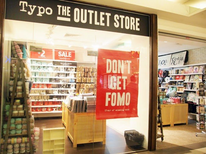 Typo outlet store Anchorpoint Shopping Centre