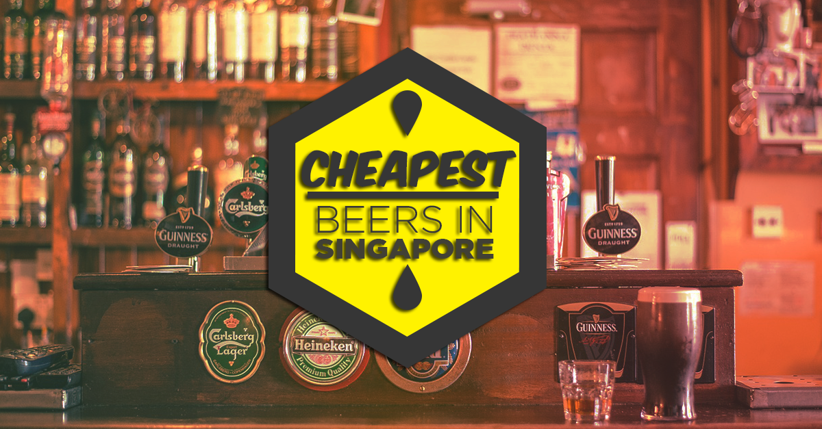 10 Bars In Singapore With The Cheapest Beer