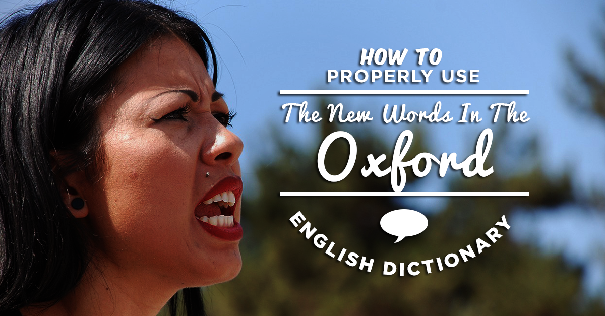 the new oxford english dictionary