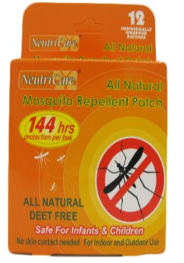 All Natural Repellent Patch