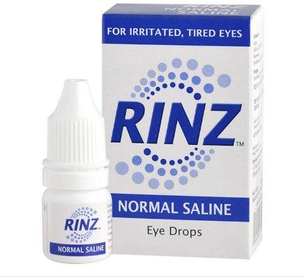 Rinz Saline Eye Drops