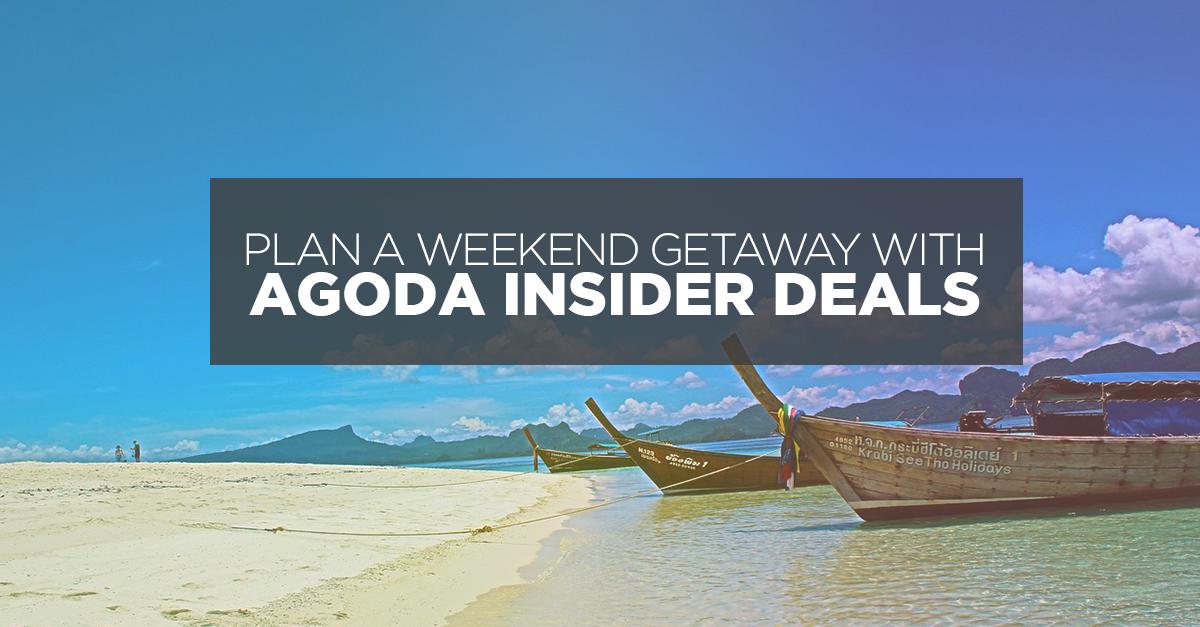 Plan a Weekend Getaway with Agoda Insider Deals!
