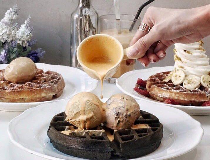 twenty grammes waffle