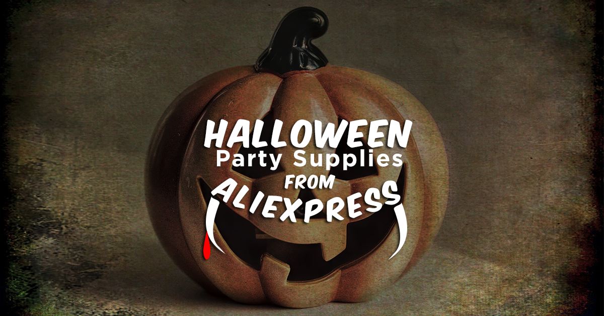 Get Ready for Halloween with These Party Supplies from Aliexpress