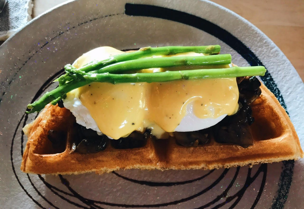 Eggs Benedict from Whisk and Paddle