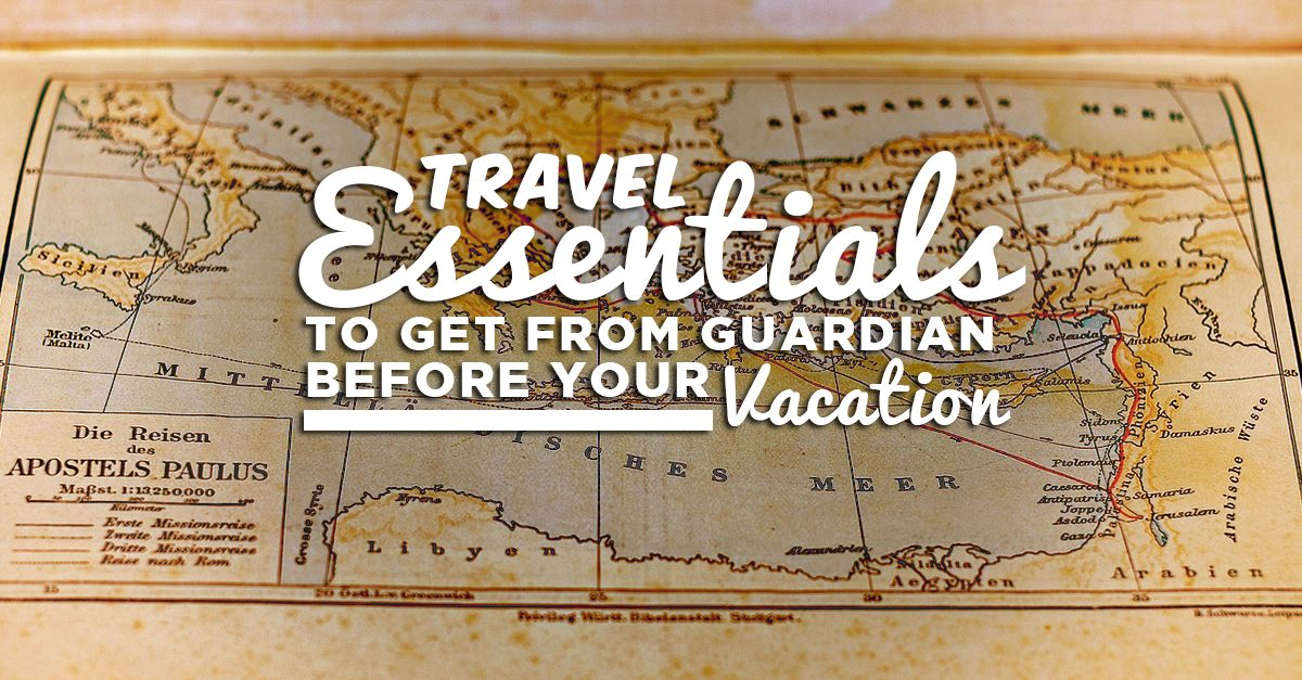 8 Essential Travel Items To Get From Guardian Before Your Vacation