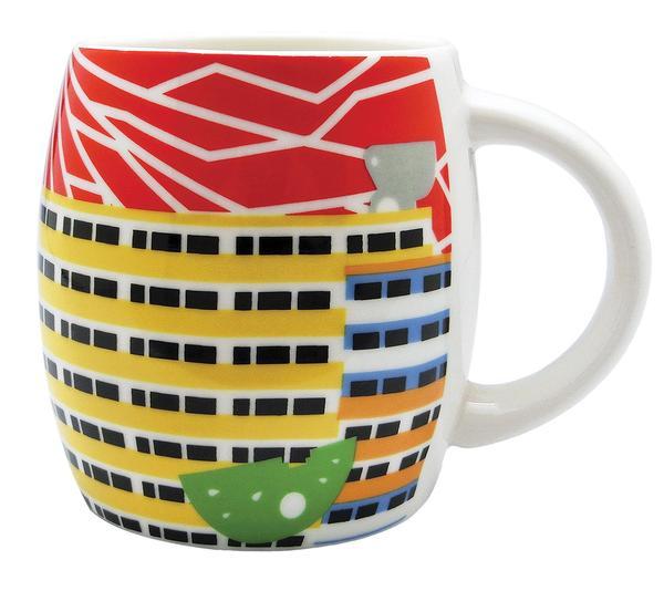 Ceramic Mug Iconic Architecture