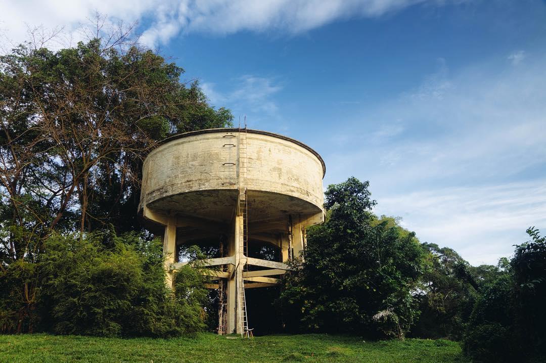 Portsdown Road's Water Tank