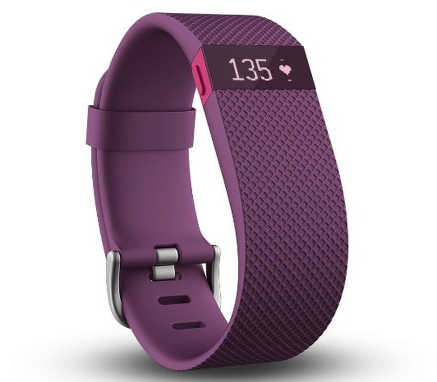 Track your workout sessions with Fitbit Charge HR Wireless Activity Wristband