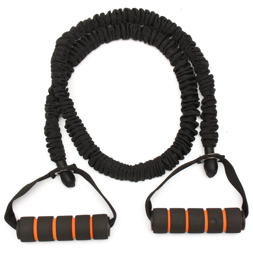 Work on those arms with the Resistance Band Strength Stretch Belt Rope