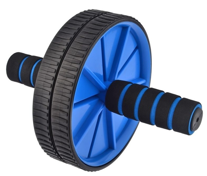Get abs with this Hand Pusher Ab Power Wheel Trainer Kit
