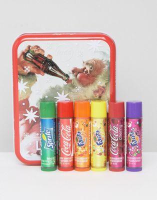 Christmas-themed Coco-Cola Santa Classic Tin Box