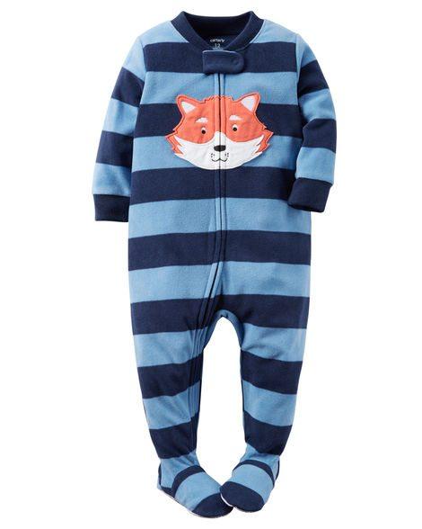 Soft and comfy one-piece fleece pyjamas