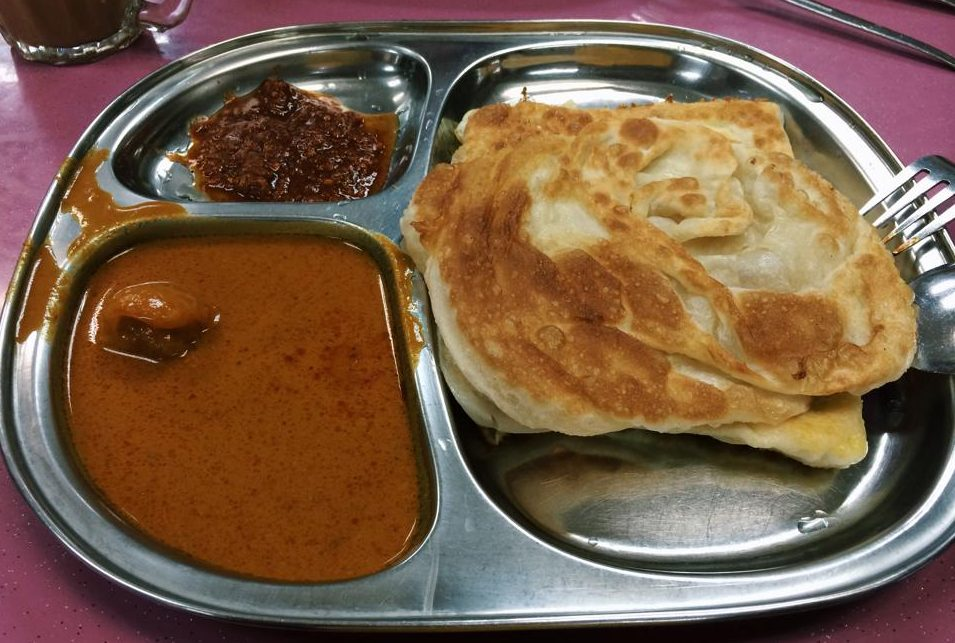 Spice up your prata with some belachan chili at ENAQ!