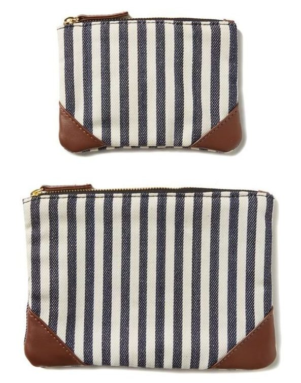 Seeing Double - Two cosmetic pouches in one!