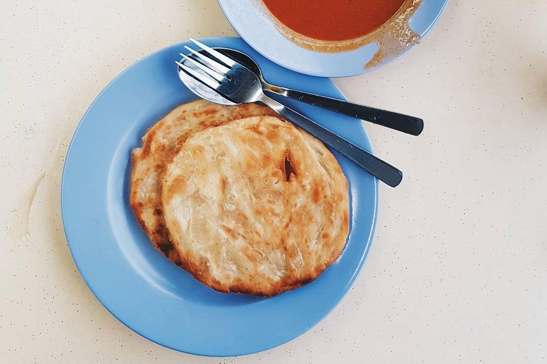 Savour The Roti Prata House's signaure Plain Prata